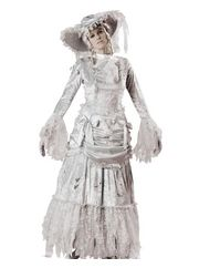Halloween Ghostly Ghoul Womens Costume