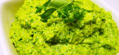 MS Diet For Women :  Raw Kale And Cashew Pesto    1/2 cup raw, unsalted cashew nuts     1 clove garlic, peeled     1 large bunch kale, washed and chopped, stems removed     Handful of basil leaves, stems removed     1/2 cup extra-virgin olive oil     Salt and cracked black pepper to taste     1/2 lemon (juiced)