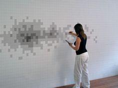 8-Bit & Pixels : 8bit  pixel wall design