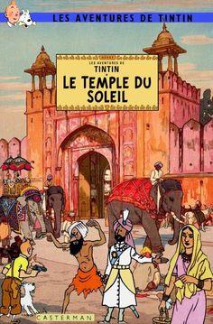 Les Aventures de Tintin - Album Imaginaire - Le Temple du Soleil