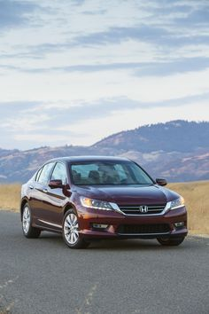 2013 Honda Accord ~ hoping this model will be my next auto purchase.  Love this color.