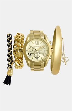 Michael Kors Watch & Bracelets | Nordstrom