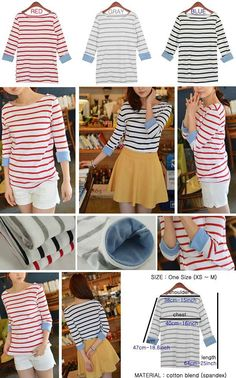 Unique striped shirt with cuff 2 in 1 design outfit