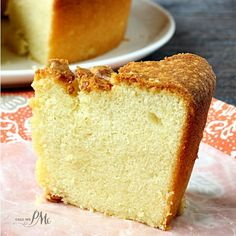 Sour Cream Pound Cake Recipe is a simple classic and part of my Pound Cake series. It's butter and moist and easy to make. Always a favortie recipe.