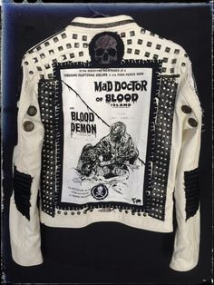 Dr Blood Jacket from Chad Cherry by ChadCherryClothing on Etsy https://www.etsy.com/listing/225555016/dr-blood-jacket-from-chad-cherry