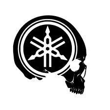 Yamaha skull logo
