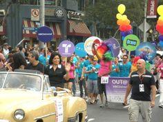 LA PRIDE Parade 2011, Andy Cohen & Zoila Chavez
