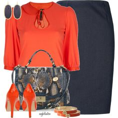 A fashion look from September 2012 featuring three quarter sleeve tops, royal blue pencil skirt and type z shoes. Browse and shop related looks. Simply Fashion, Work Fashion, Fashion Outfits, Womens Fashion, Fashion Trends, Fashion Sets, Fashion Styles, Beautiful Outfits, Cool Outfits