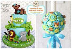 Ce copilas nu adora animalutele mai ales pe cele din Jungla :D Pe aceasta lumanare se regasesc figurine tigrii lei girafe elefanti si zebre si maimute iar culoarea predominanta este bleo-turcoaz la fel ca pe tort. Lumanarea jUngla Bleo: http://ift.tt/2nEB2cY (pozele torturilor nu ne apartin au fost trimise de clienti pentru a ne inspira la decorarea Lumanarilor de Botez) - http://ift.tt/1ipRjKg -