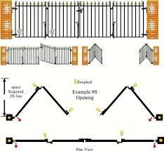 wooden folding gate design - Google Search