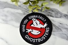GHOST BUSTERS Jacket Iron on Patch