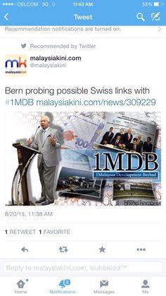 Putra Merdeka: Skandal 1MDB Diadukan Di Switzerland..!