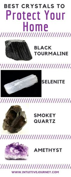 Crystals for home protection. These are good to have around. I'm so glad I have all of these.