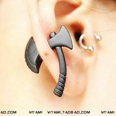 Cheap accessories for nokia Buy Quality accessories iron directly from China accessories ninja Suppliers: Personality Punk Nickel Free Black Ax Hatchet Mens Womens Stud Earring Fashion Piercing Jewelry Accessories Punk Earrings, Unique Earrings, Fashion Earrings, Fashion Jewelry, Stud Earrings, Punk Jewelry, Ear Jewelry, Jewelry Accessories, Jewelry 2014