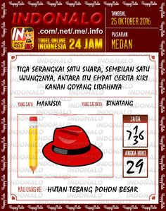 Colok Shio Togel Wap Online Live Draw 4D Indonalo Medan 25 Oktober 2016