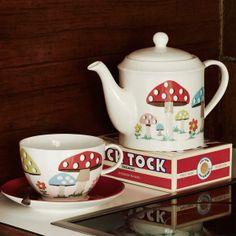 Mushroom Teapot from Cath Kidston - love it!