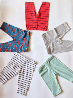T-Shirt to Baby Leggings tutorial