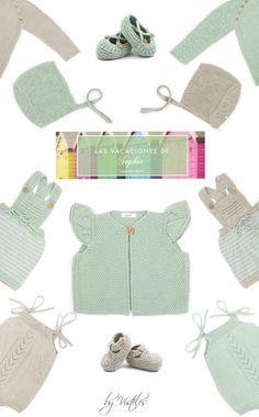 DANDO LA BIENVENIDA A LA PRIMAVERA CON SOPHIE MODA INFANTIL SS15. Moda Crochet, Crochet Baby, Knitting For Kids, Baby Knitting, Bebe Baby, Baby Vest, Baby Costumes, Pretty Baby, Ss 15