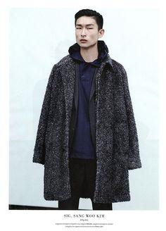 Kim Sang Woo for L'Officiel Hommes Italia #11 Fall / Winter 2014.15 'UNTITLED 6/9' Ph: Laurence Ellis
