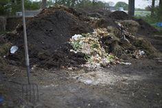 Compost pile at the farm.. nothing goes to waste! #EpiphanyFarms #FarmtoFork #SustainableFarming #Farming #Green