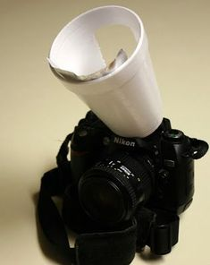 Tutorial Geek: How to make a flash diffuser and reflector from your existing built in flash