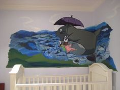 Totoro Baby Room Photo, FindAMuralist