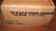 Посылка из Южной Кореи.