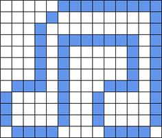 Music Note bead pattern 1 blokje is 3 stokjes