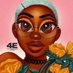 sunny- sunshine Art Print by foreverestherr Black Love Art, Black Girl Art, Art Girl, African American Art, African Art, Outfits Quotes, Drawings Of Black Girls, Arte Black, Black Girl Cartoon