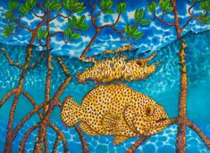Jean-Baptiste is the world's leading silk painting artist. He specializes in tropical art painted in rich vibrant colours. Artist Painting, Silk Painting, Art Stained, Painting, Original Paintings For Sale, Caribbean Art, Art, Tropical Art, Silk Art