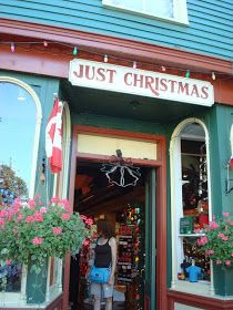 Just Christmas-went/shopped: Niagara On The Lake- Canada