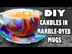 Watercolor Coffee Mugs - Easy DIY Gifts - YouTube