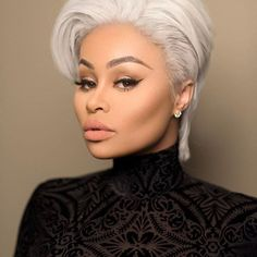 The Glam Life: Blac Chyna stuns in short blonde hairdo, see photo. Lashed By Blac Chyna, Black Chyna, Jheri Curl, Natural Hair Styles, Short Hair Styles, Amber Rose, Facial Recognition, Short Blonde, Short Cuts