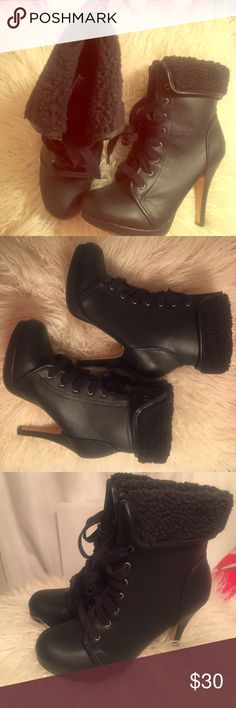 Madden Girl Black Booties Size 7.5, Never Worn! Madden Girl Black Booties Size 7.5, Never Worn! Do not have original box, these were purchased at Ross, and have called my closet their home since. Madden Girl Shoes Ankle Boots & Booties