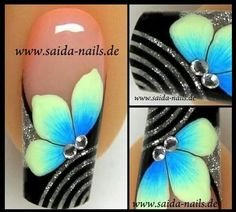 Easy to do Great Nails, Fabulous Nails, Hot Nails, Hair And Nails, Jolie Nail Art, Nails First, Toe Nail Designs, Fancy Nails, Flower Nails
