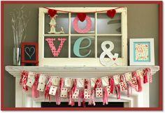 Let It Shine: 20 Inspiring Valentine Mantels