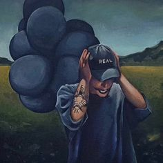 Irina hope you'll see this painting some day. Nf Rapper, Best Rapper, Nf Lyrics, Nf Quotes, Music Quotes, Nf Real Music, Emo Wallpaper, Wallpaper Space, Sunflower Drawing