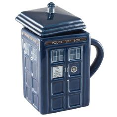 Amazon.com: Doctor Who 17 oz. Figural Tardis Mug: Home & Kitchen $20.43