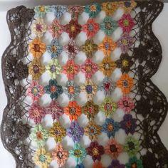 Flowers Scarf: Inspiration