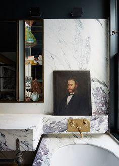 Jenna Lyons' Soho Loft, Take Two - Katie Considers Soho Loft, Attic Renovation, Attic Remodel, Loft Design, House Design, Attic Design, Design Design, Design Ideas, Soho Apartment