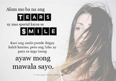 Tagalog Love Quotes - 365greetings.com Love Quotes For Her, Cute Love Quotes, Quotes For Him, Hugot Quotes Tagalog, Memes Tagalog, Tagalog Love Quotes, Deep Relationship Quotes, Secret Crush Quotes, Tears Quotes
