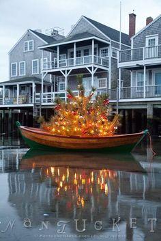 Easy Street Basin Christmas Tree Nantucket, Massachusetts