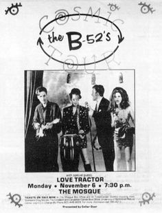 The B-52s at The Mosque - 1989