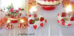 birthday party Panna Cotta, Happy Birthday, Parties, Sweets, Table Decorations, Ethnic Recipes, Food, Happy Brithday, Fiestas
