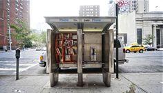Cabinas telefónicas en bibliotecas urbanas →