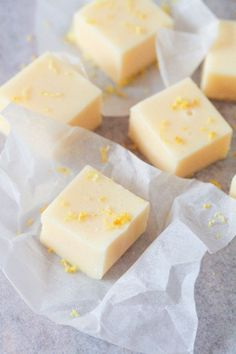 Citronfudge.