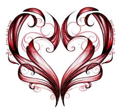 want this as a tatoo Love Tattoos, Body Art Tattoos, Tatoos, Valentine Heart, Valentines, Heart Tattoo Designs, I Love Heart, Black Heart, Meaningful Tattoos