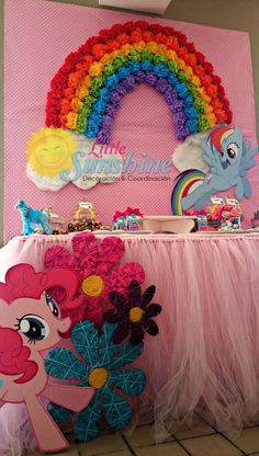 """Little pony"" Birthday Party Ideas 