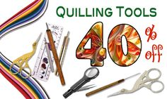Quilling Superstore - I just placed an order for a beginners kit to learn quilling.  I seems to be pretty cool