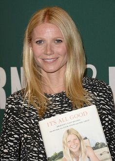 Gwyneth Paltrow es fanática de la buena salud